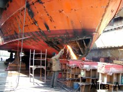 Retrofitting of a fishing vessel to a pleasure boat 3