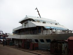 Retrofitting of a fishing vessel to a pleasure boat 6
